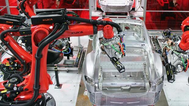 Tesla 3-Produktion